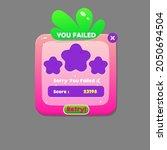game ui you failed strawberry...