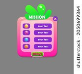 game ui mission strawberry pink ...