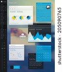 todo list  | Shutterstock .eps vector #205090765