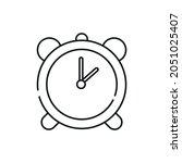 alarm clock icon vector icon ...