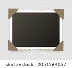 photo frame picture on wall....   Shutterstock .eps vector #2051264057
