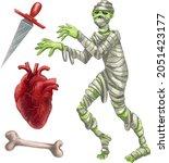 a set of illustrations for... | Shutterstock .eps vector #2051423177