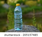 Water In A Bottle On A Hot Day