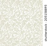 wallpaper and tile in the style ... | Shutterstock .eps vector #205158895