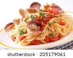 Spaghetti With Clams  A...