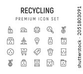 premium pack of recycling line...