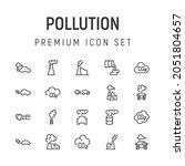 premium pack of pollution line...