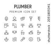 premium pack of plumber line...