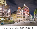 nuremberg  germany at albrecht... | Shutterstock . vector #205183417