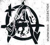 Punk Rock Music Anarchy Template