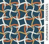 Motley Ribbon Seamless Pattern. ...