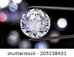 diamond jewelry holding | Shutterstock . vector #205238431