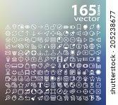Line Web Icon  Vector