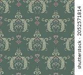 floral vintage seamless pattern ...   Shutterstock .eps vector #2052571814