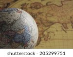 Old Maps And Globes