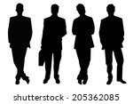 four black businessmen