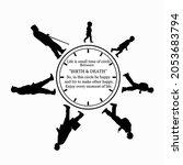 life circle ok man birth to... | Shutterstock .eps vector #2053683794