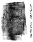 black rolled ink texture   Shutterstock . vector #205426069