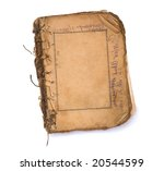 old blank book with frames on... | Shutterstock . vector #20544599