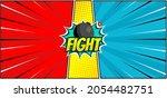 comic versus fight background...   Shutterstock .eps vector #2054482751