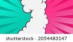 comic versus fight background...   Shutterstock .eps vector #2054483147