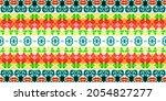 Multi Color Geometric Pattern....