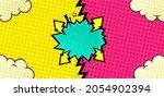 comic versus background with...   Shutterstock .eps vector #2054902394