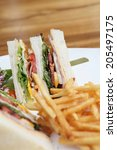club sandwich | Shutterstock . vector #205497175