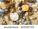 dried scented flowers used as... | Shutterstock . vector #205505725
