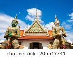 wat arun in day light of... | Shutterstock . vector #205519741