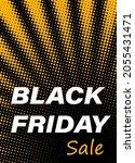 black friday sale sign on... | Shutterstock .eps vector #2055431471