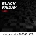 black friday sale sign on... | Shutterstock .eps vector #2055431477
