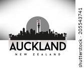 Auckland New Zealand Skyline...