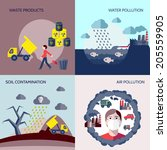 Pollution Waste Products Water...