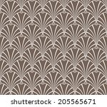 vintage pattern  seamless | Shutterstock . vector #205565671