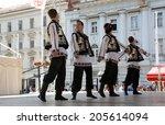 zagreb  croatia   july 16 ... | Shutterstock . vector #205614094