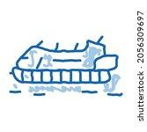 Rescue Hovercraft Sketch Icon...