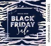 black friday sale banner design ... | Shutterstock .eps vector #2056332461