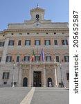 rome  italy   june 24  2014 ... | Shutterstock . vector #205652587