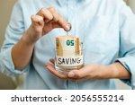business finance saving and... | Shutterstock . vector #2056555214