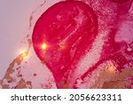 fuchsia  pink and gold shining...   Shutterstock .eps vector #2056623311