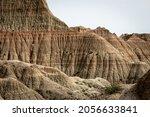 Badlands National Park  Sd  Usa ...