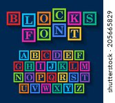 Learning Blocks Alphabet....