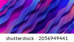 abstract fluid  lines and... | Shutterstock .eps vector #2056949441