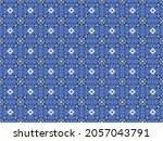 seamless vector pattern with... | Shutterstock .eps vector #2057043791