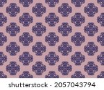 seamless vector pattern with... | Shutterstock .eps vector #2057043794