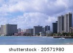 Waikiki Resorts - stock photo