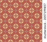 vintage floral pattern. vector...   Shutterstock .eps vector #2057199857