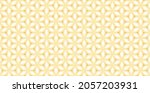 colorful floral geometric grid...   Shutterstock .eps vector #2057203931