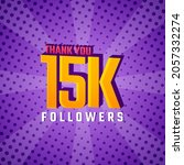 Thank You 15 K Followers Card...